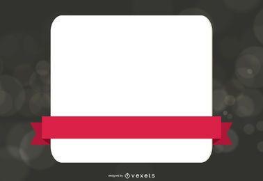 Klassische Werbe-Web-Box-Vorlage