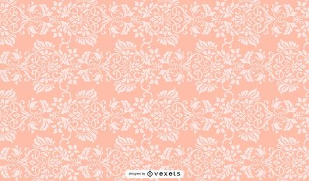 Colorful Vintage Damask Ornate Background