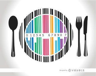 Codebar dish cutlery