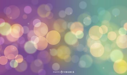 Colorful Shiny Bokeh Background