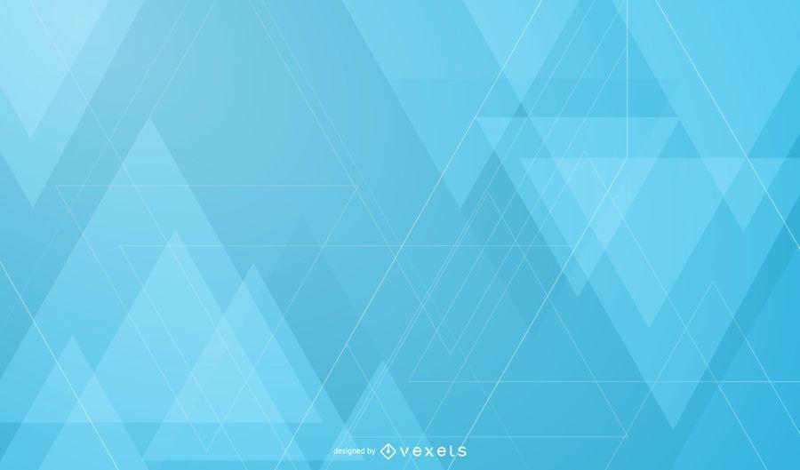 Fondo abstracto de triángulos superpuestos