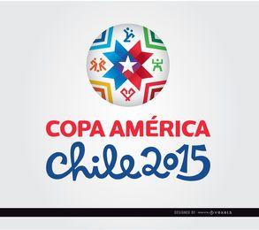 Copa América logo 2015 pelota