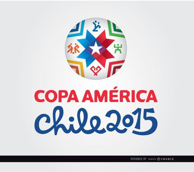 Copa América logo 2015 bola