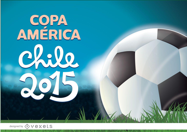 Estadio de fútbol Copa América 2015