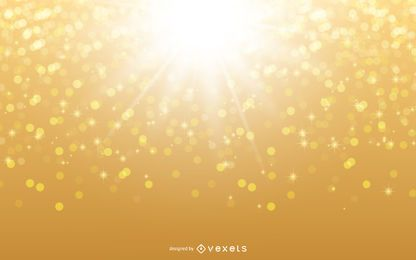 Glowing Sunshine Glittery Background