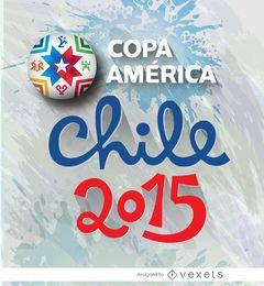 Logo de copa america chile