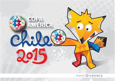 Tapete Copa America Chile Zincha