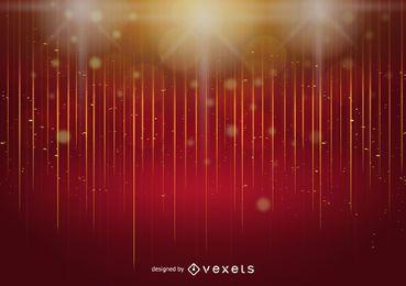 Glänzender Goldfunkeln-abstrakter Hintergrund