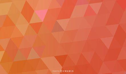 Textura de triángulos poligonales coloridos vibrantes