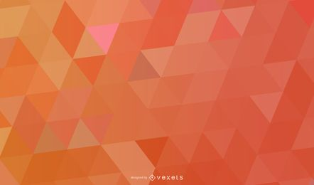 Vibrant Colorful Polygonal Triangles Texture