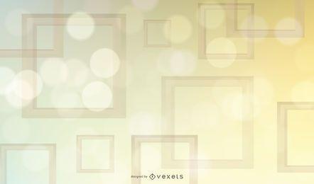 Glühender bunter quadratischer Rahmen-Hintergrund