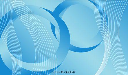 Verdrehen des Vortex-Kreis-Hintergrundes