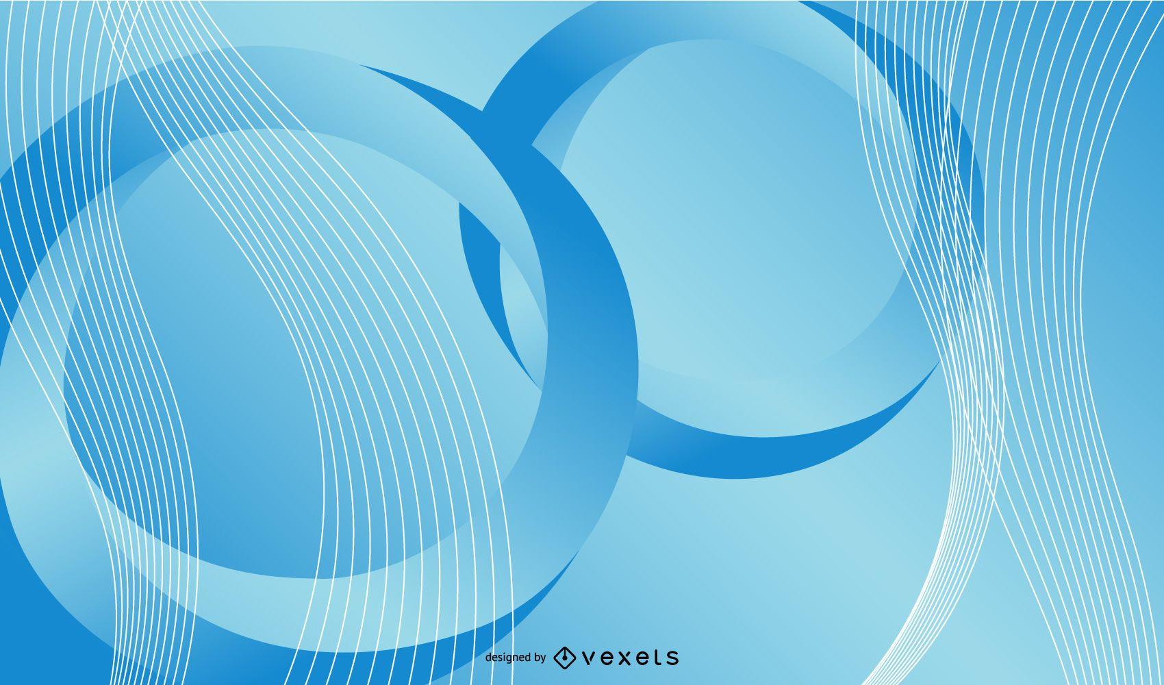 Twisting Vortex Circle Background