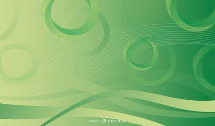 Glatte Kreise u. Ring-Hintergrund