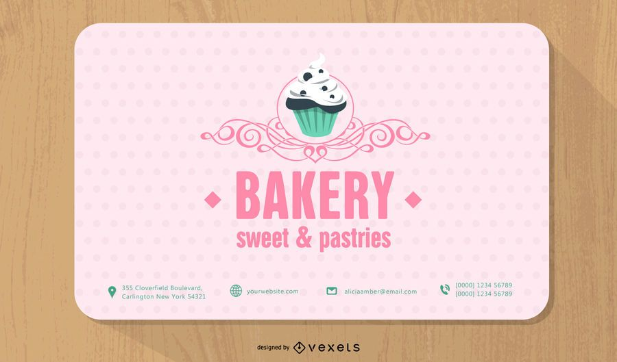 The Bakers Shop Business Card