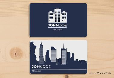 Beautiful Property Management Business Card