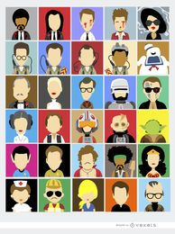 30 Avatares cinematográficos personajes famosos