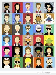 30 Avatares personagens famosos de filmes