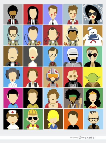 30 famous film characters