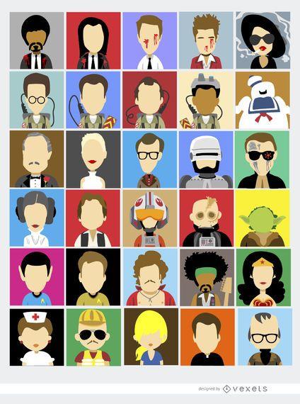 30 personajes famosos del cine