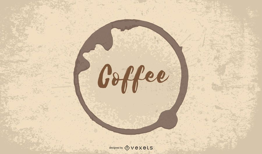 Fundo de Cafeteria de café quente