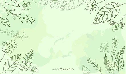 Fondo fresco del día de la tierra del ambiente