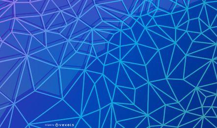 Triángulos abstractos y líneas de fondo
