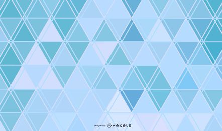 Blue Abstract Triangles Lines Background