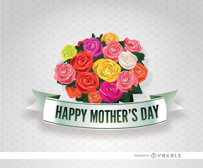 Ramo de flores para el día de la madre