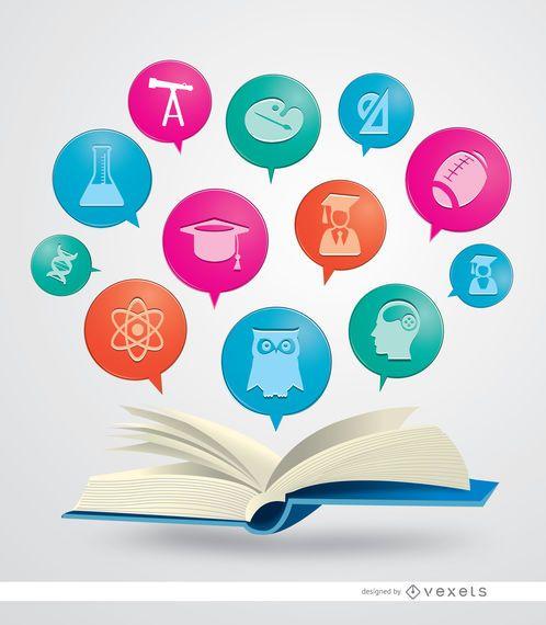 Libro de iconos academicos