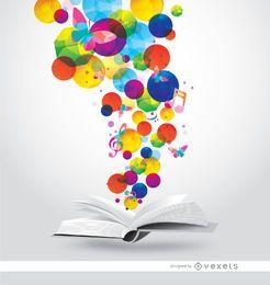 Manchas de colores mágicos libro