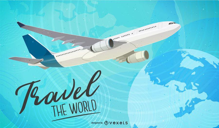 Antecedentes de la red mundial de viajes