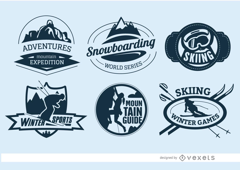 6 insignias de deportes extremos
