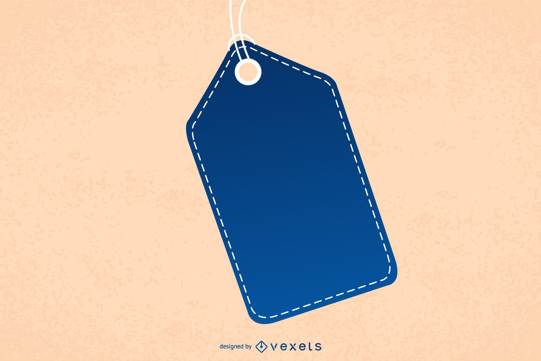 Hanging Angular Creative Tag