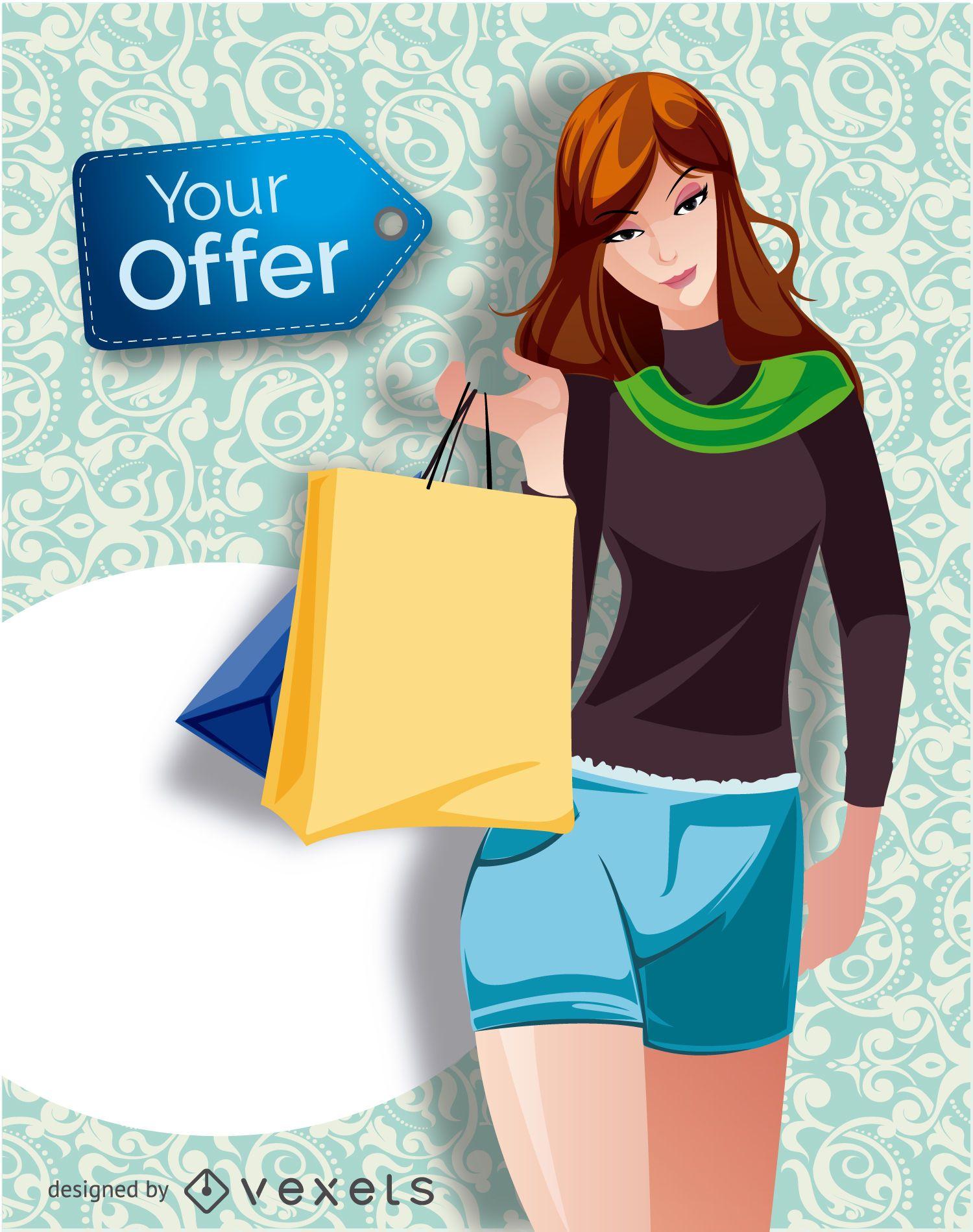 Promoción chica de compras