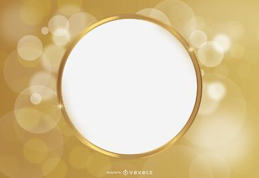 Space Circle Bright Background