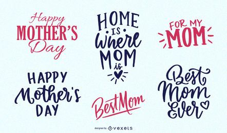 Mother?s Day Vintage Message Pack
