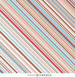 Riscas diagonais em cor pastel