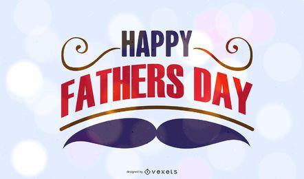 Concepto de saludo del día del padre