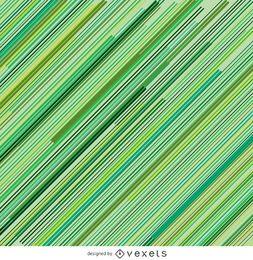 Fundo verde de riscas diagonais