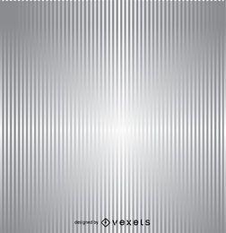 Fondo plateado de rayas verticales