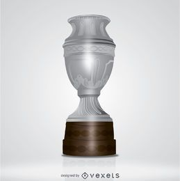Trofeo de plata grande
