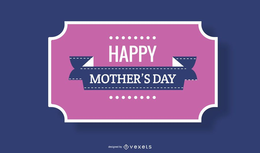 Mother?s Day Vintage Greeting Card