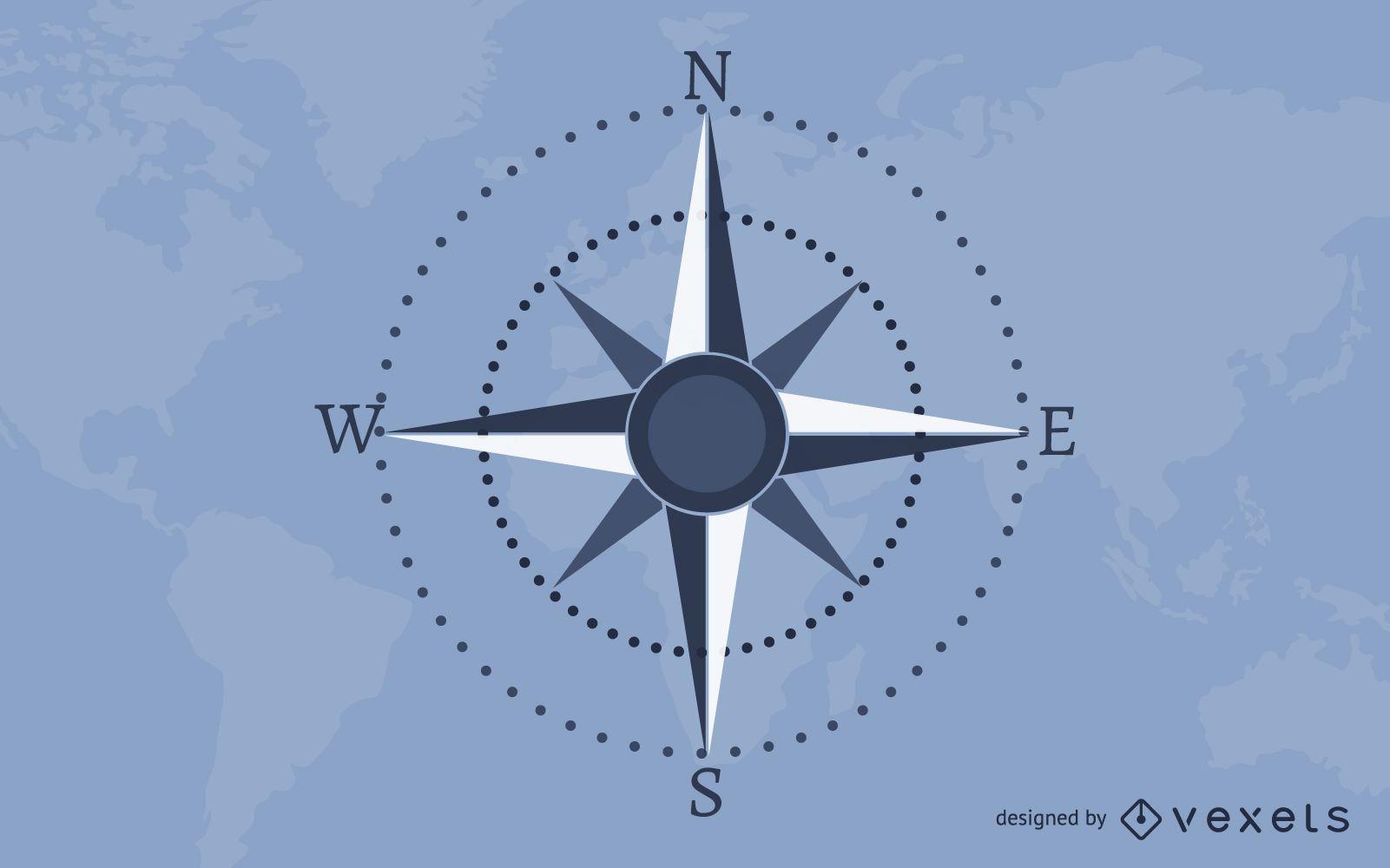 Carta náutica Mapa de la tierra