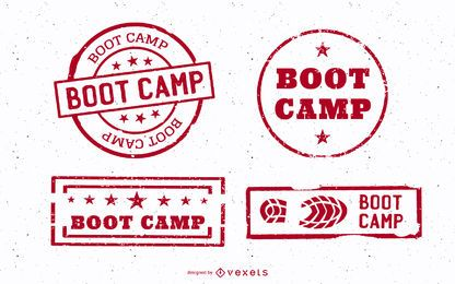 Vintage Boot Camp Stump Set