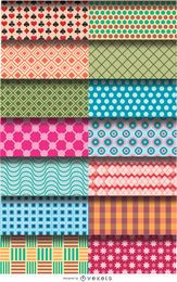 14 pattern figure backgrounds