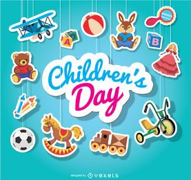Children's day hanging toys