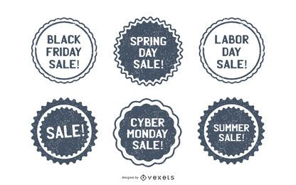 Promotional Sale Stamps Pack