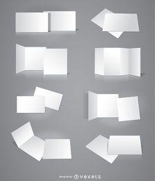 8 folletos tarjetas invitaciones presentaciones.