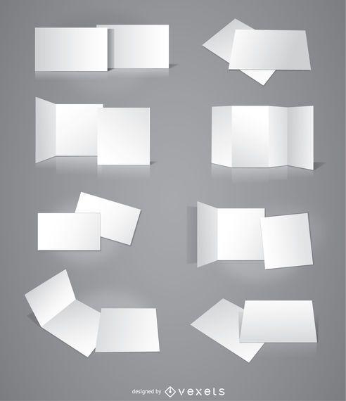 8 Folhetos, cartões, convites, apresentações